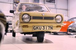 Reliant Robin on Channel 4 Dispatches