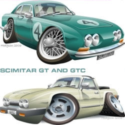 Scimitar GT and GTC